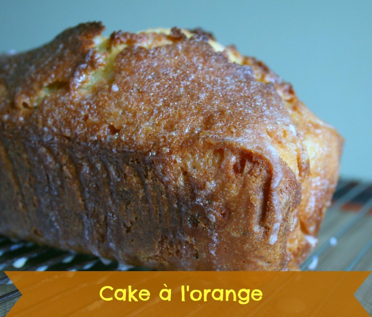 Cake l orange happy cooking - Gateau a l orange ...