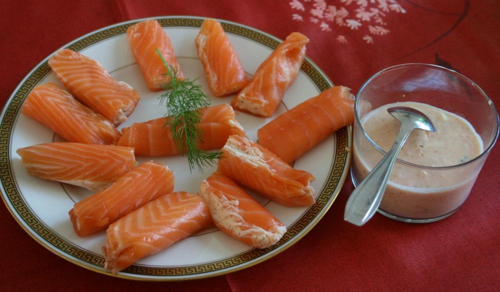 Frivolités de saumon