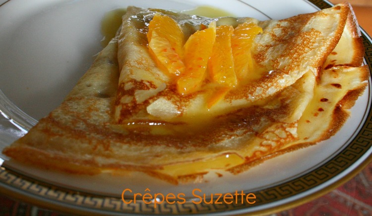 Crepe suzette -Orange