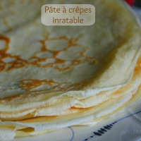 Pâte à crêpes inratable