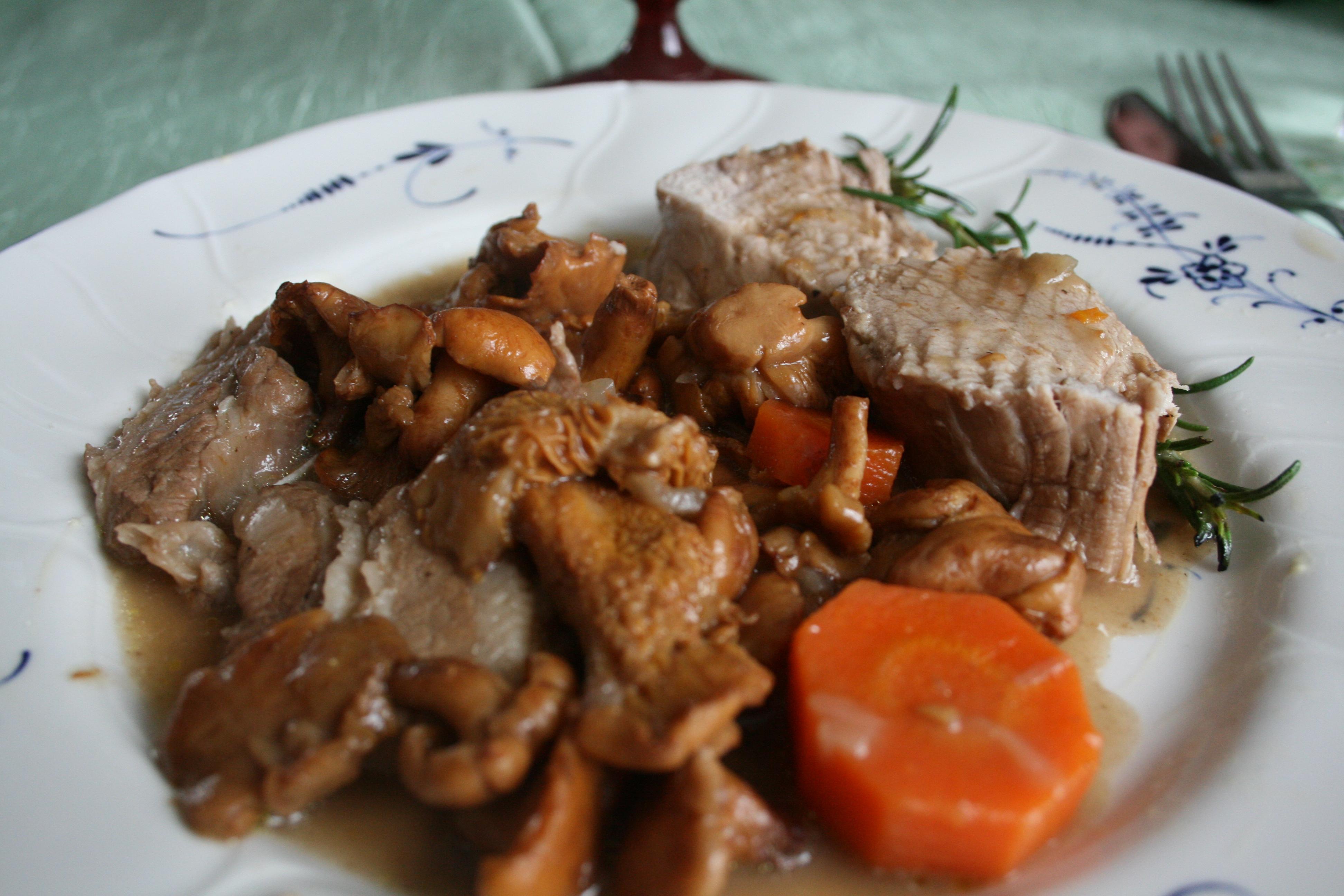 Recette filet mignon de veau en cocotte - Cuisiner rouelle de porc en cocotte minute ...