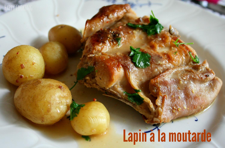 Image gallery lapin a la moutarde - Cuisine cocotte minute ...