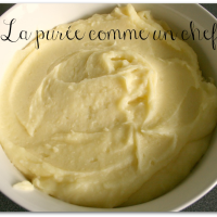 La purée de pommes de terre selon Robuchon