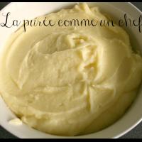 La purée de pommes de terre selon Robuchon