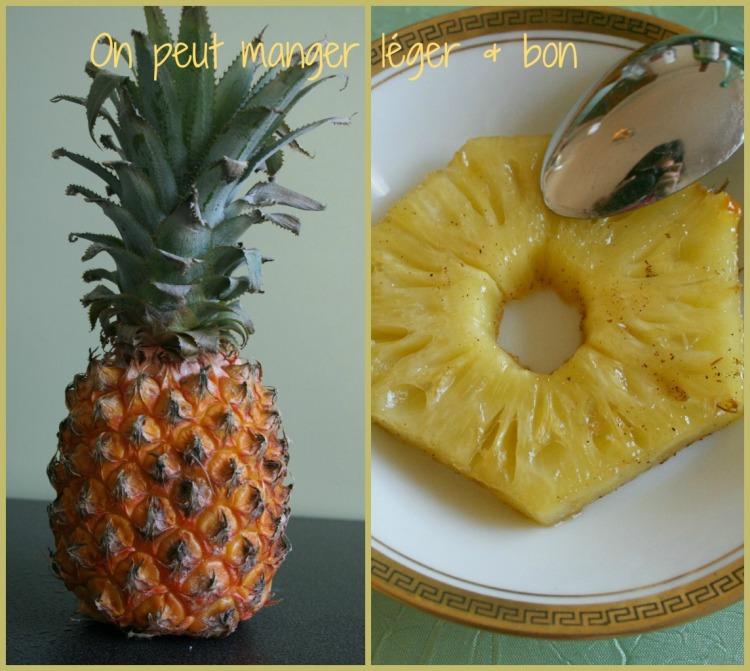 Ananas vanillé