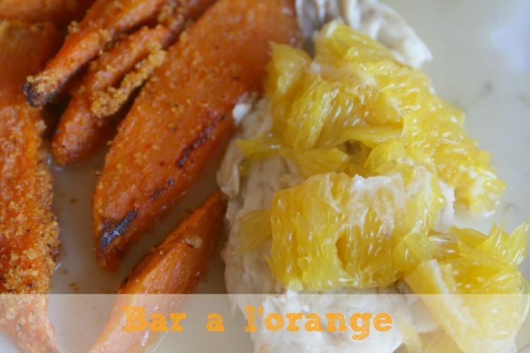 Bar à l'orange