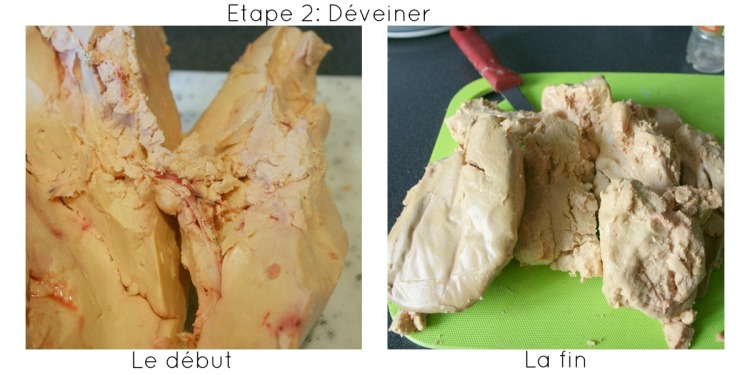 deveiner un foie gras