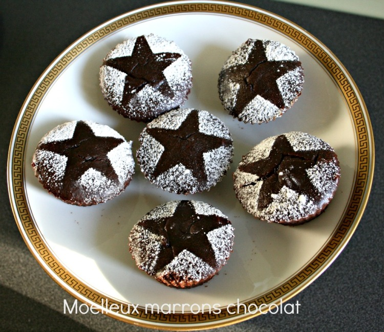 Moelleux marrons choco