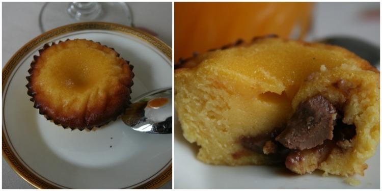 Moelleux oranges choco