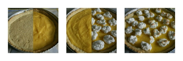 Tarte au citron in progress