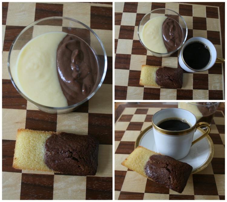 café gourmand bicolore