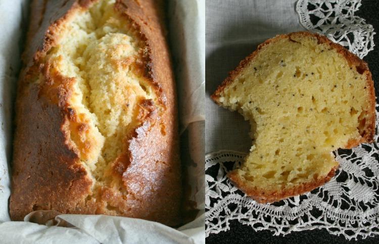 Cake citron et pavot