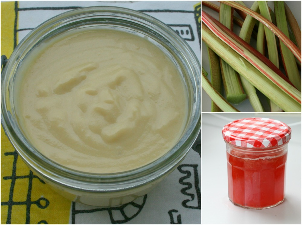 Rhubarbe curd fraises