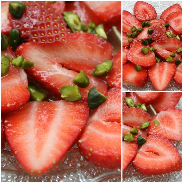 Carpaccio fraises