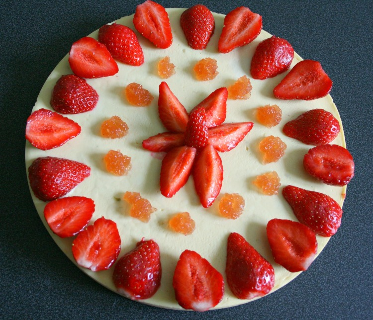 Cheesecake aux fraises