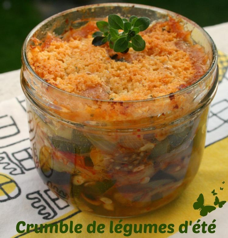 crumble légumes
