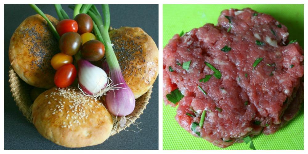 hamburger ingrédients