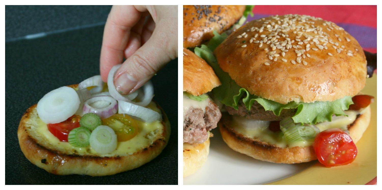Super Hamburger Royal Deluxe maison – Happy Cooking GX61