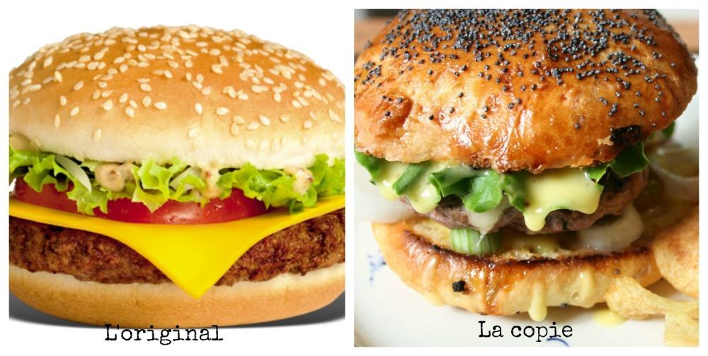 Royal deluxe hamburger