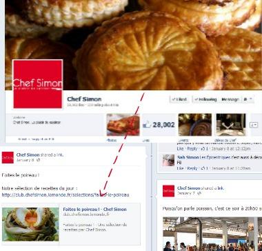 Chef Simon FB oeuf pané
