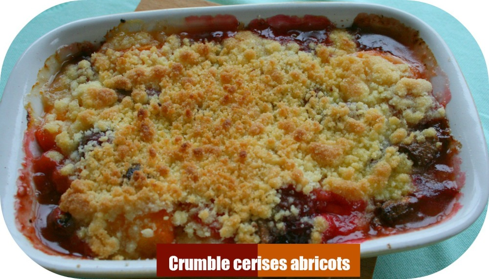 Crumble abricot