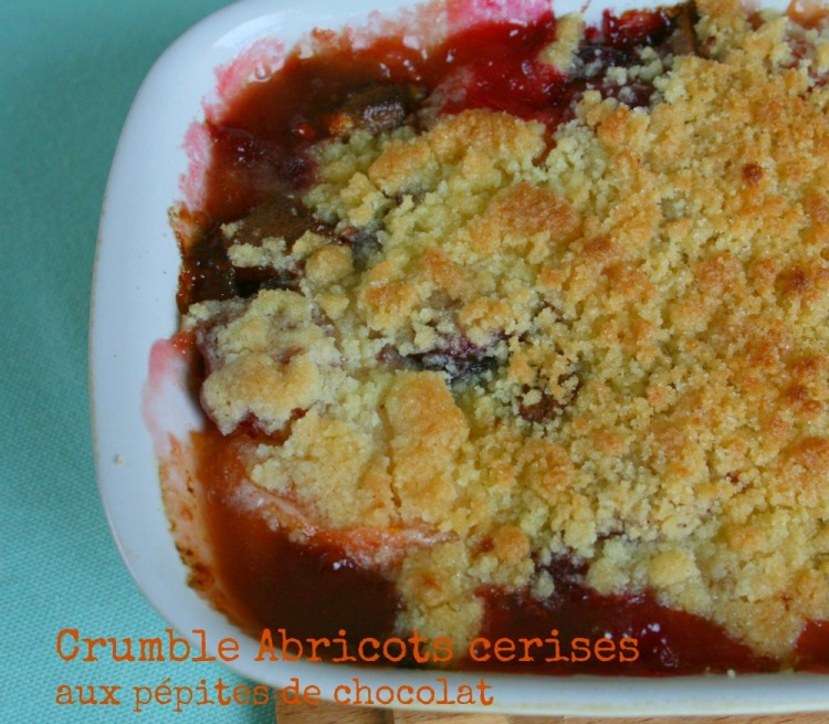crumble abricots