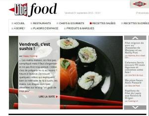 Libé food sushi