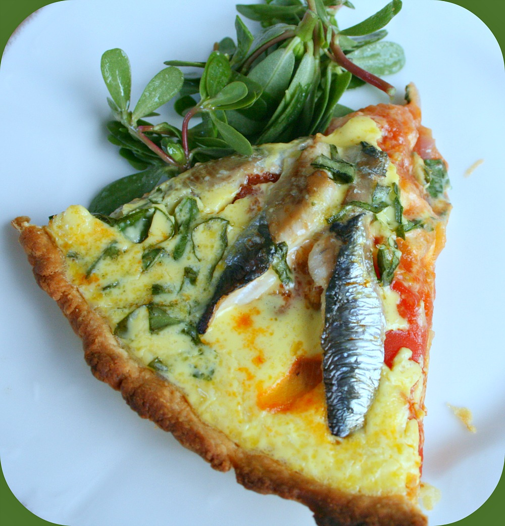 tarte aux sardines tomates et oignons happy cooking. Black Bedroom Furniture Sets. Home Design Ideas