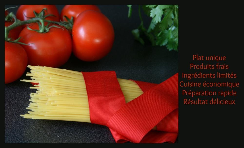 Spaghetti napolitaine