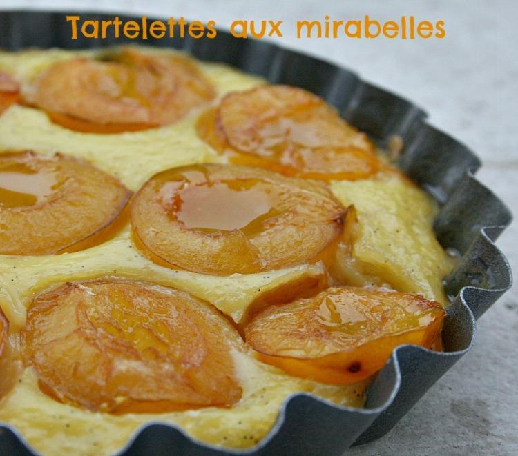 tarte mirabelles