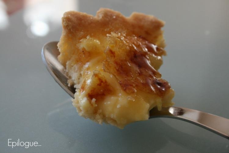 tarte à l'orange brulée