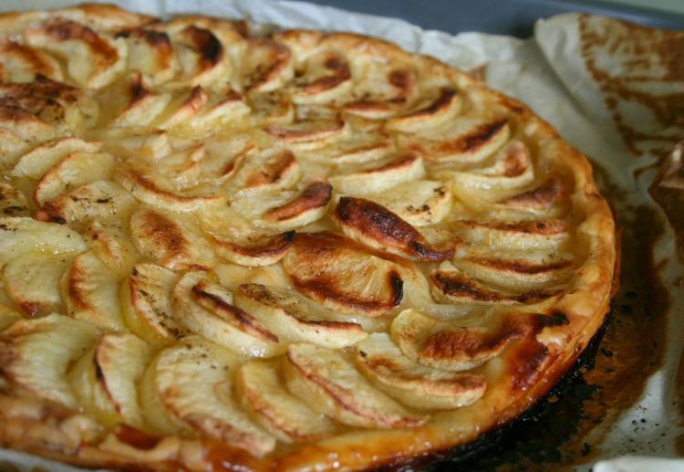 tarte fine au pomme