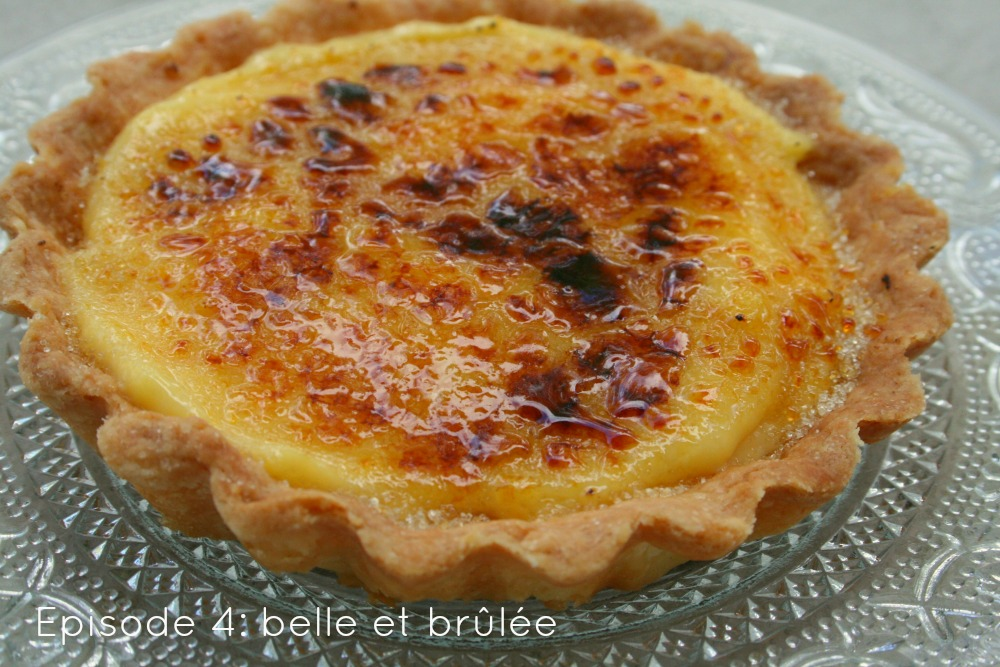 Tarte orange crème brulée