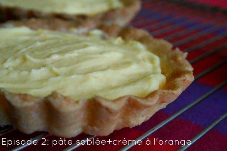 Tarte oranges