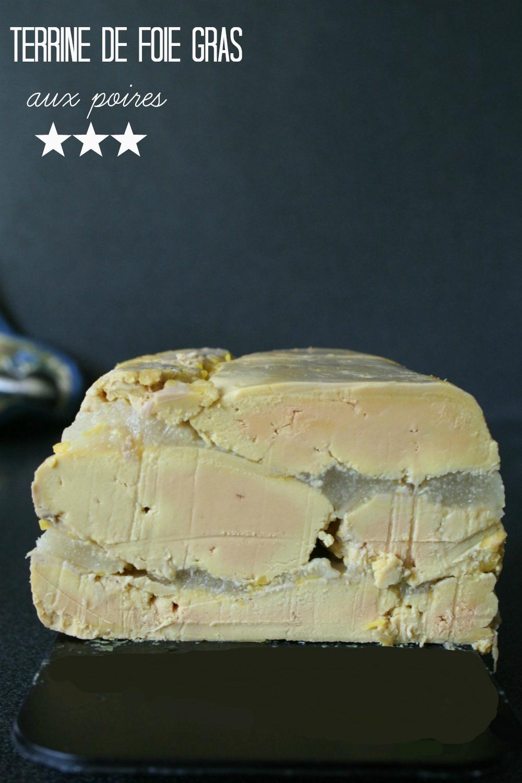 Terrine foie gras poelle