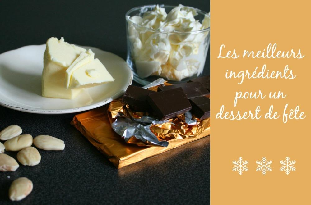 Ingrédients - tarte chocolat