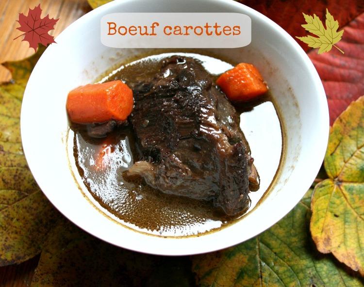 Joue de boeuf carottes