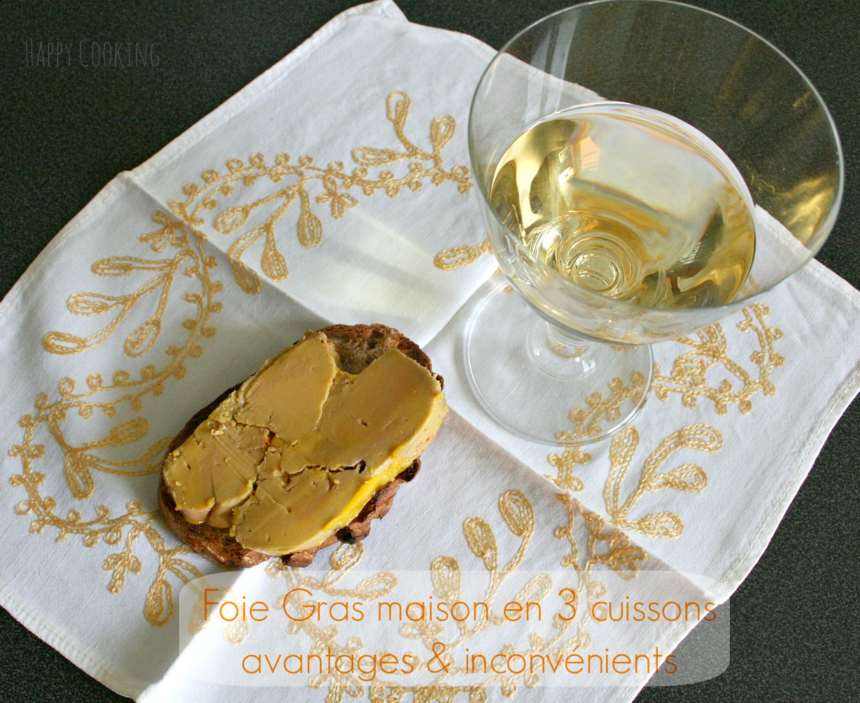 Foie gras maison en 3 m thodes avantages et inconv nients happy cooking - Faire son foie gras maison ...