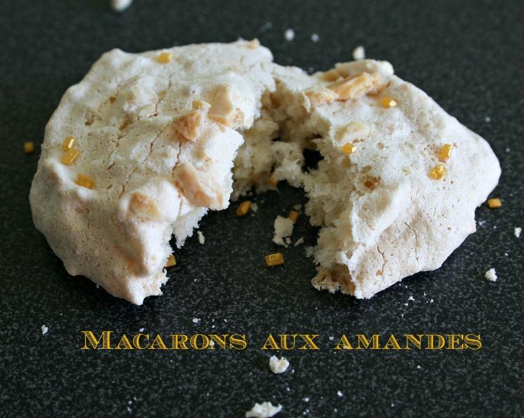 Macarons amande à l'ancienne