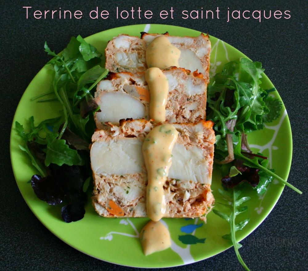terrine de lotte et saint Jacques