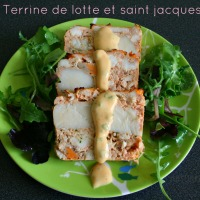 Terrine de lotte et saint-Jacques