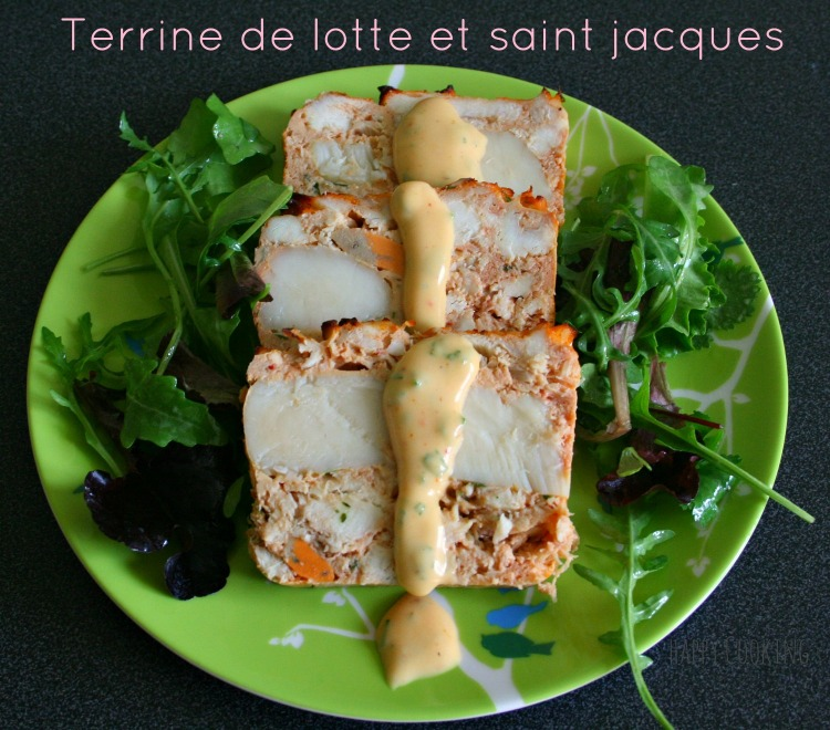 terrine de lotte et saint Jacques