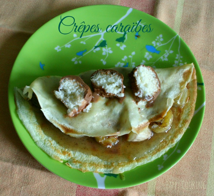 Crepes bananes bounty