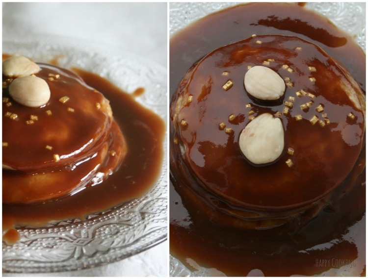 Gâteau de crèpes au praliné