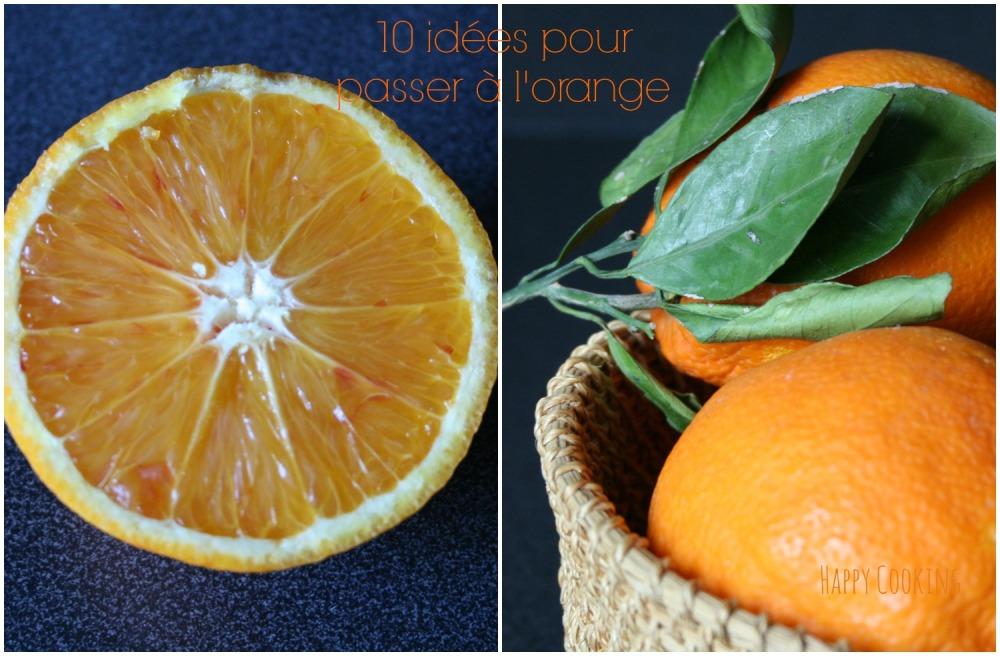 Recettes à l'orange (2)