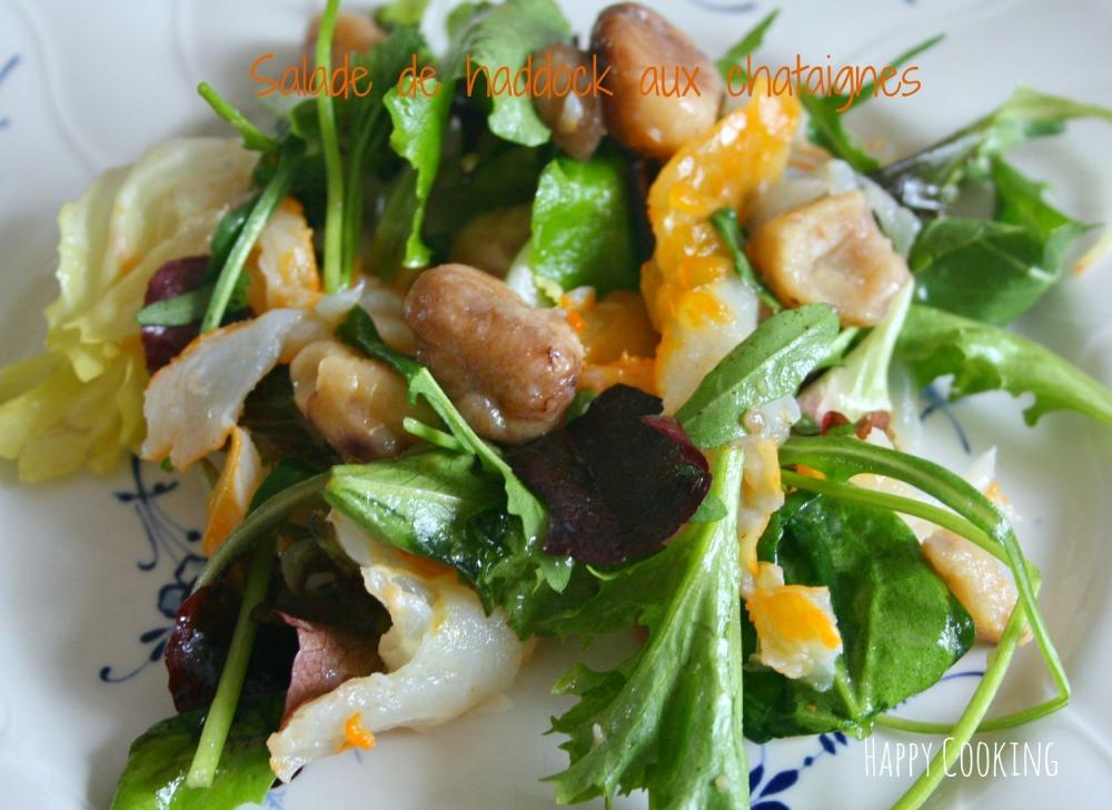 Salade de haddock