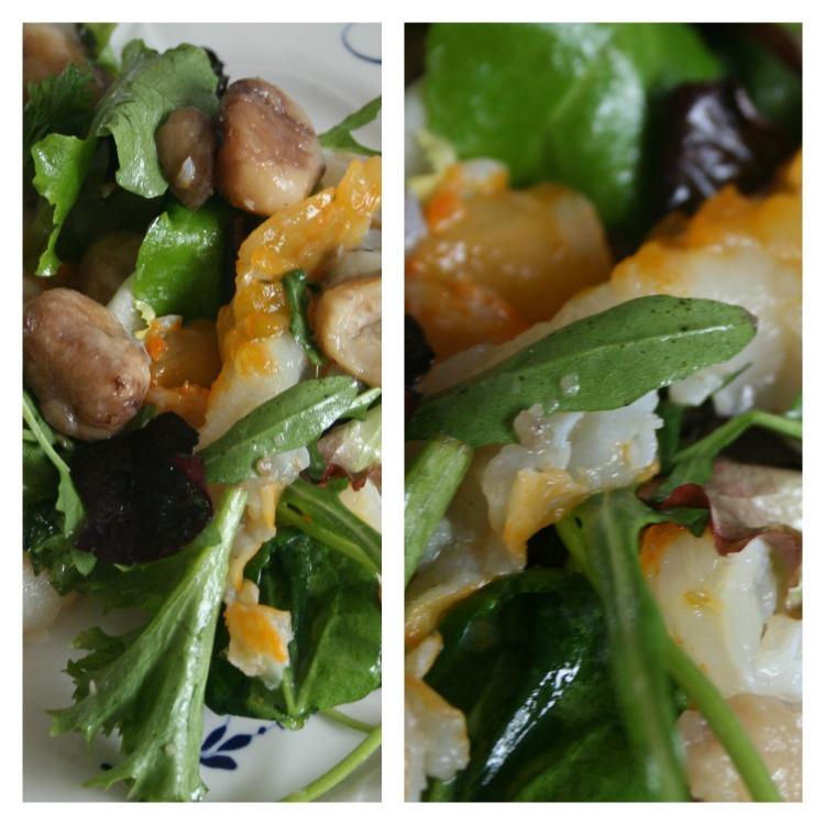 Salade Haddock chataignes