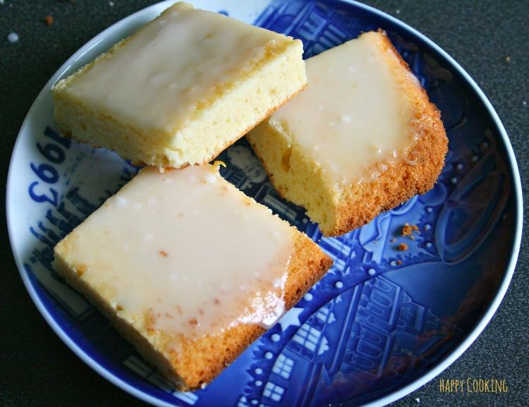 Brownies citron