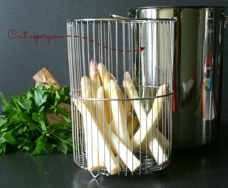 asperges cuisson vapeur - Cuit asperges