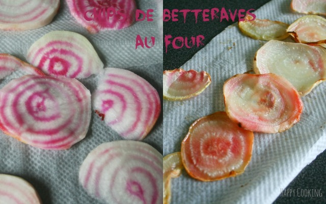 Chips de betteraves four